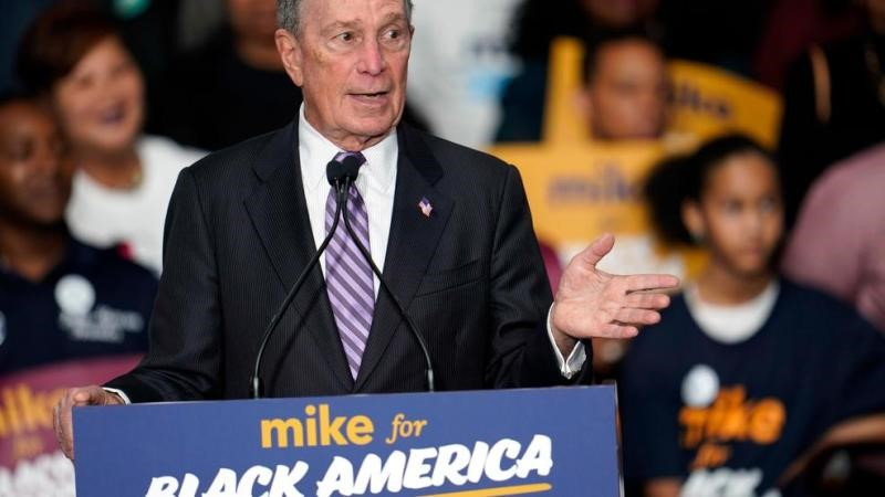 2020 rivals aim to slow Bloomberg's surge as he faces his first debate in Vegas