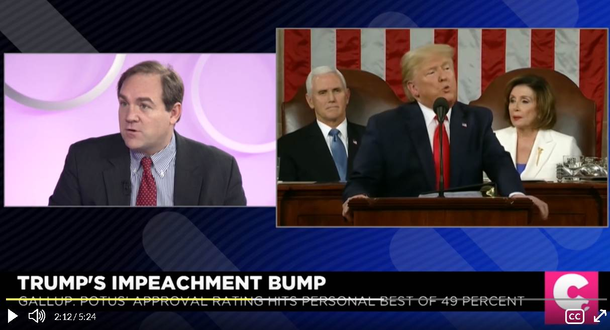 Trump's Impeachment Bump