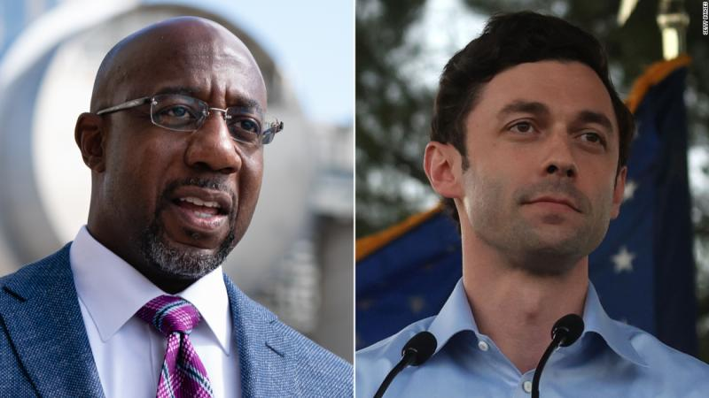 CNN Op ED: Georgia runoffs are a must-win for the Democrats, and for Biden